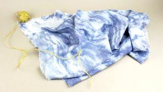 Как покрасить ткань в технике сухой батик своими руками