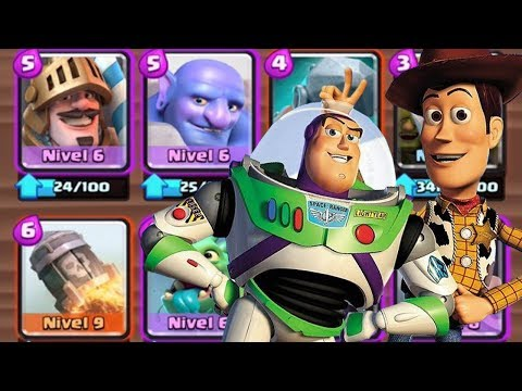 LA BARAJA DE TOY STORY | CLASH ROYALE