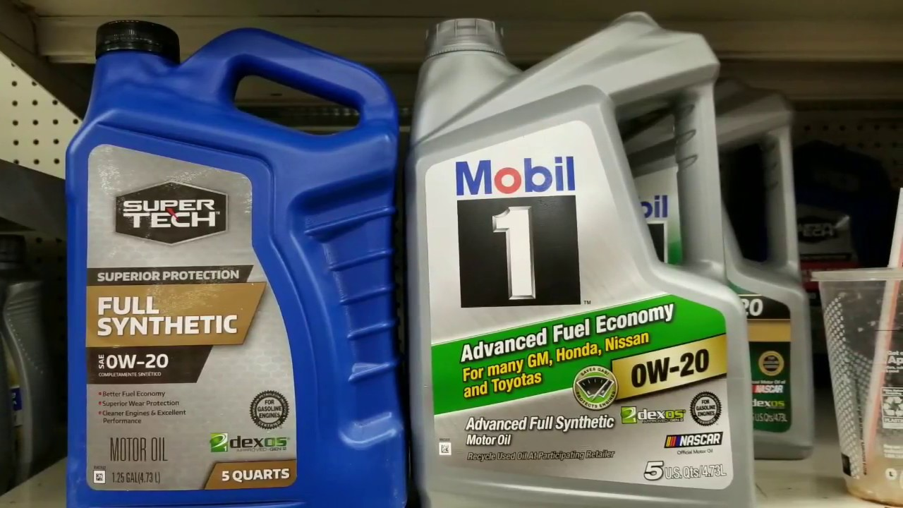 Which FULL SYNTHETIC 0w-20 Motor Oil? ($15 - $38) SO MANY BRANDS!
