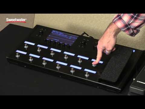 Line 6 Helix - Pedal Edit Demo by Sweetwater Sound