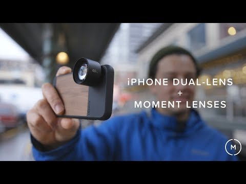 iPhone Dual-Lens With Moment Lenses | Moment Vlog
