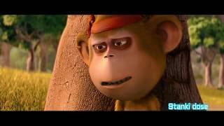 Delhi Safari|Bandru|Funny Moment|Monkey|Language|Govinda|Hindi| thumbnail