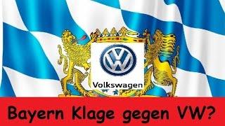 Bayern will VW verklagen wegen Aktienkursverlust