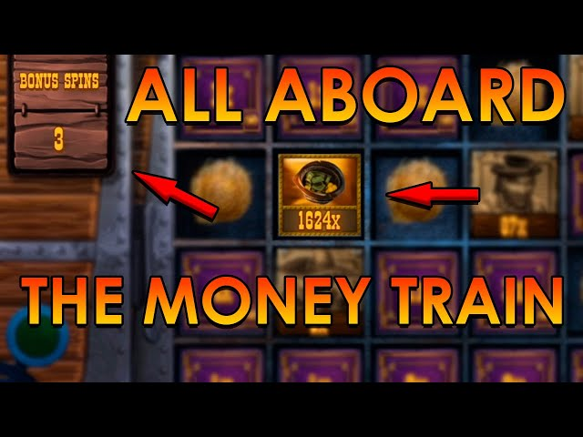 ALL ABOARD! SUPER MEGA BIG WIN ON MONEY TRAIN (Relax Gaming)
