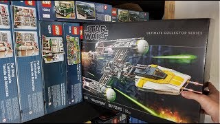 Ultimate Collectors Series Y Wing: Build & Review