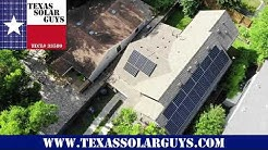 Austin Energy Solar Rebate Installation