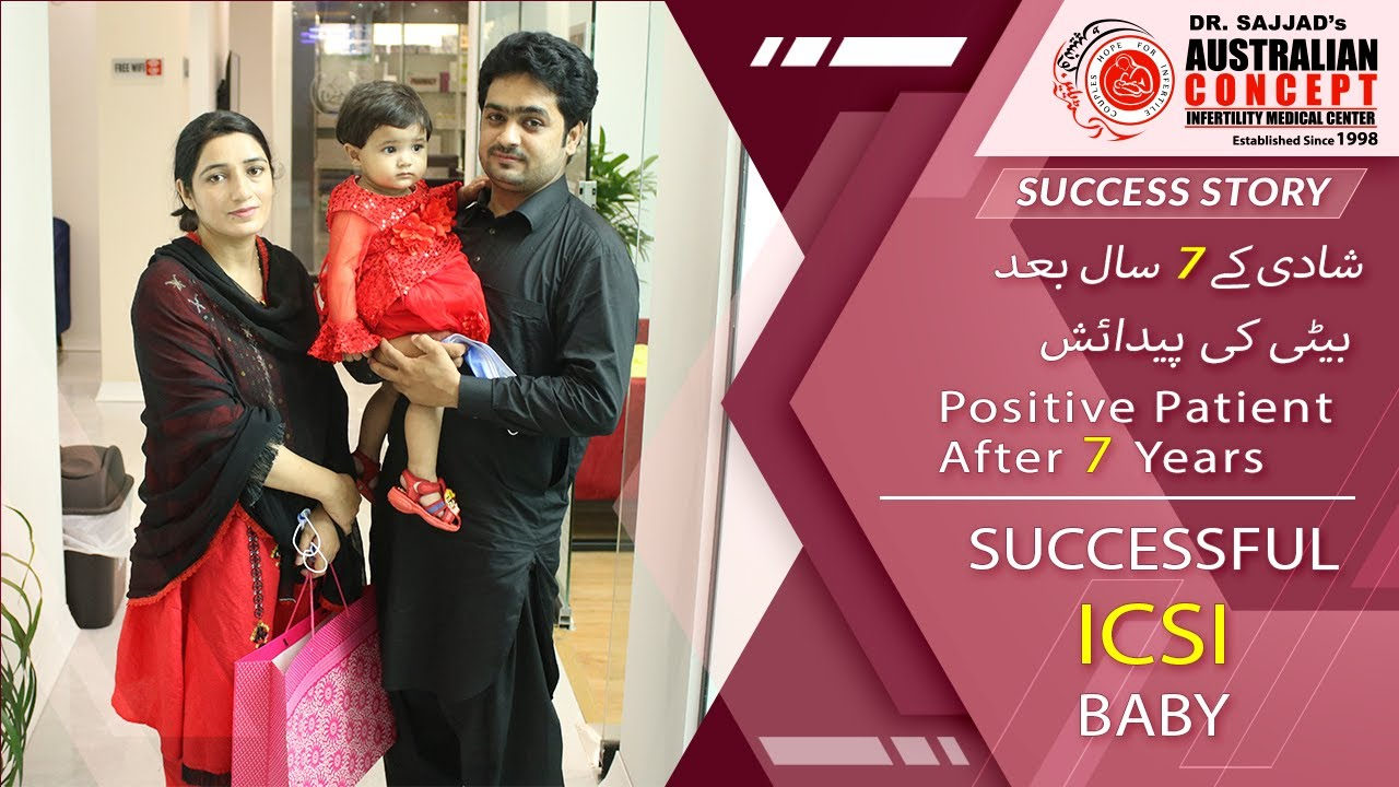 ICSI Success Story | 7 Years of Infertility Successfully Treated | Australian Concept