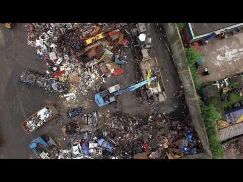 Maxilead Metals Site  - Drone Flyover
