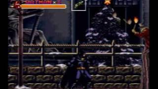 Batman Returns - Super Nintendo SNES