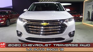 2020 Chevrolet Traverse AWD High Country - Exterior And Interior - LA Auto Show 2019