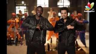 Making of Love Anthem   Akon in Chennai to record Simbu