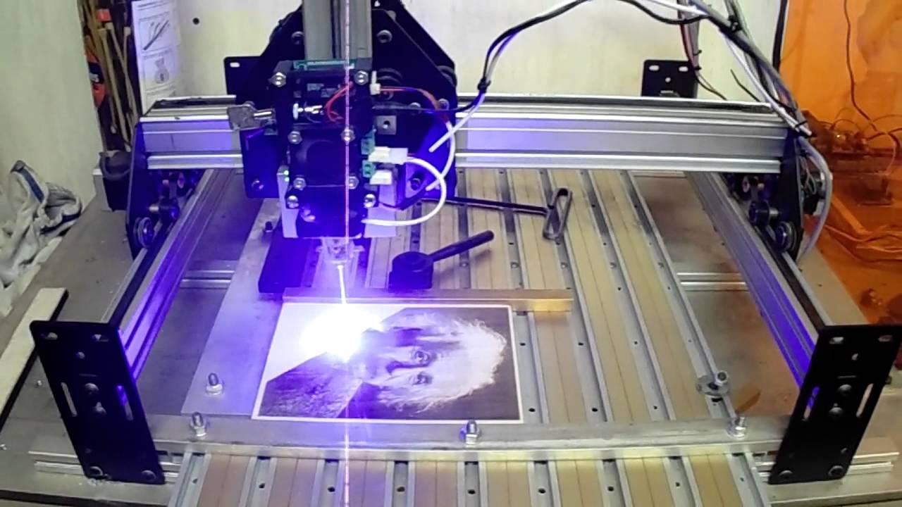 Shapeoko 2 J Tech Photonics Laser PicEngrave Pro 5 & PicSender