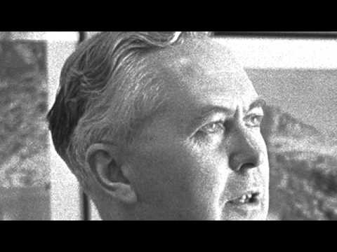 Harold Wilson stops interview at the BBC