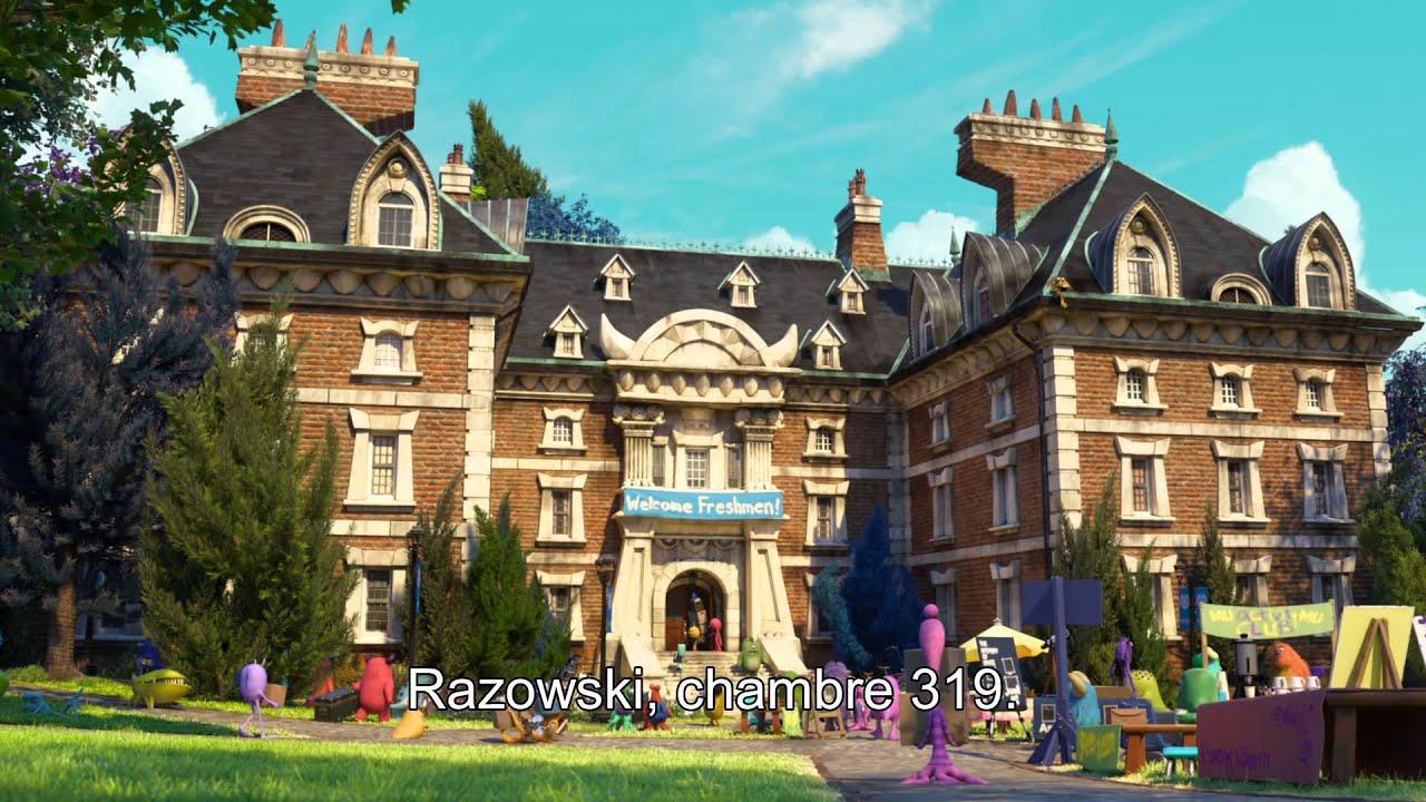 Monstres Academy - Bande annonce VOST - Le 10 juillet au cinéma I Disney
