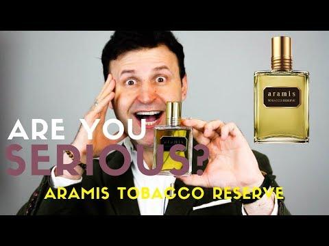 New ARAMIS Tobacco Reserve Fragrance Review | MAX FORTI