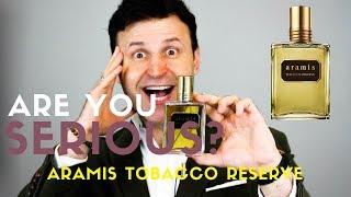 New ARAMIS Tobacco Reserve Fragrance Review MAX FORTI
