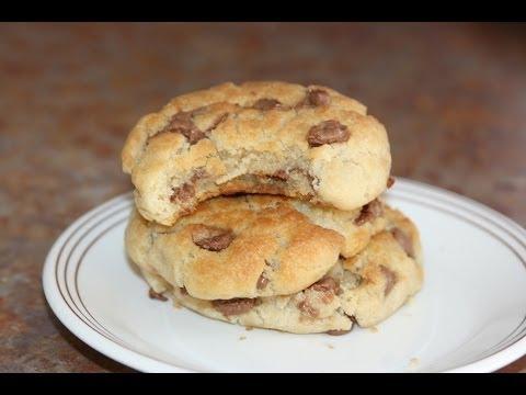 biscuits-pépites-de-chocolat---chocolate-chip-cookies---كوكيز-بالشكولا-للأطفال-سهل-ولذيذ