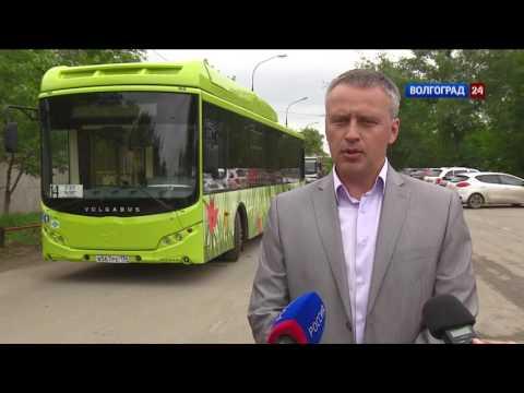Автопарк Волжского пополнился новыми газомоторными автобусами