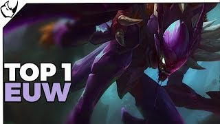 Top 1 Khazix EUW w League of Legends