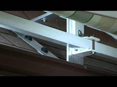 Roof Brackets Service Video Marygrove Awnings Youtube