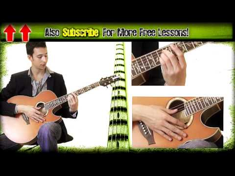 Guitar Lesson Adele Set Fire To The Rain Acoustic Tutorial