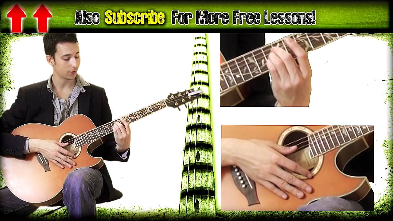 Guitar Lesson Adele Set Fire To The Rain Acoustic Tutorial Youtube
