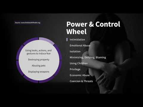 Intimidation on the Wheel of Power and Control | Taking Action Against Domestic Violence