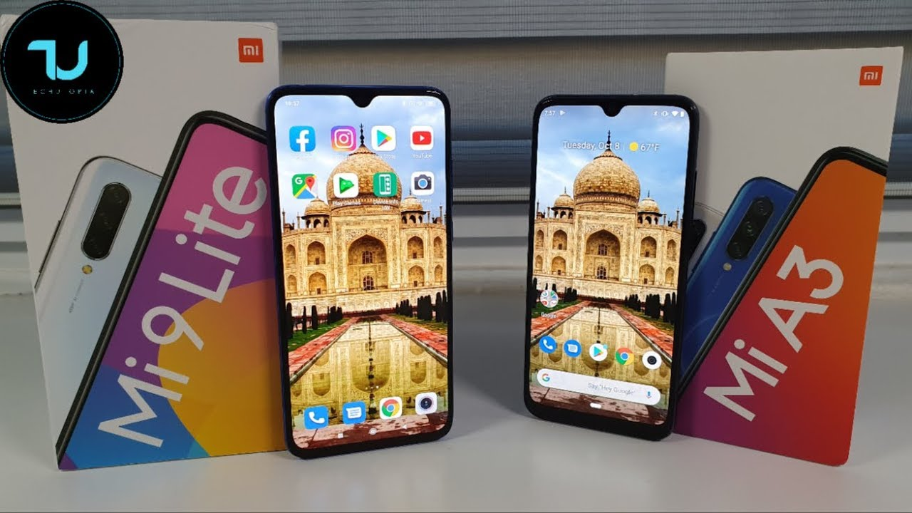Xiaomi MI9 Lite vs Xiaomi Mi A3 Camera comparison/Screen/Size/Sound Speakers/Design! Review CC9