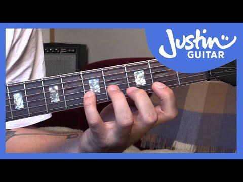 Guitar Techniques - Minimum Movement Guitar Exercise - Guitar Lesson [TE-004]