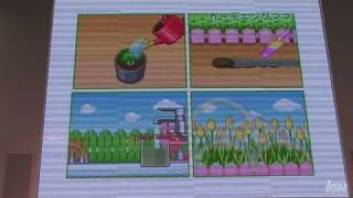 Gardening Mama Nintendo DS Trailer - TGS 2008: Feed and