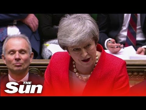 "PMQs: Corbyn and May spar over ""slowing economy"""