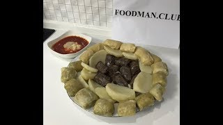 Хинкал слоеный: рецепт от Foodman.club