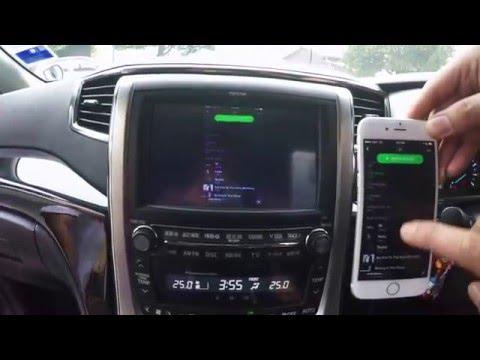 Toyota Touch AV input | FunnyCat TV