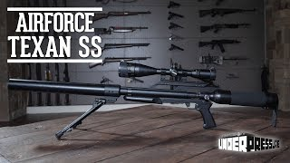 AIRFORCE TEXAN SS Exclusive FIRST LOOK with Rick Ward The Urban Airgunner