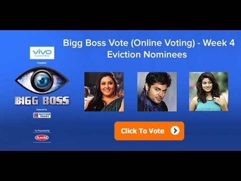 Big Boss Tamil Voting - (Online voting line are open)