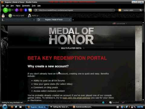 medal of honor beta key free for xbox, ps3, pc NO DOWNLOADS or SURVEYS