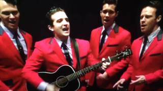 DWTS! MARK BALLAS AS FRANKIE VALLI in JERSEY BOYS!