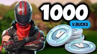 FORTNITE 20.000 SUBSCRIBER-REGISTER 1000V-BUCK LOTTERY