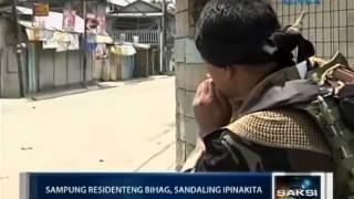 Saksi: Ilang bihag na residente sa Zamboanga City, nagwagayway ng puting tela