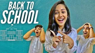 GOING BACK TO SCHOOL WITH BROTHER & SISTER | Rimorav Vlogs