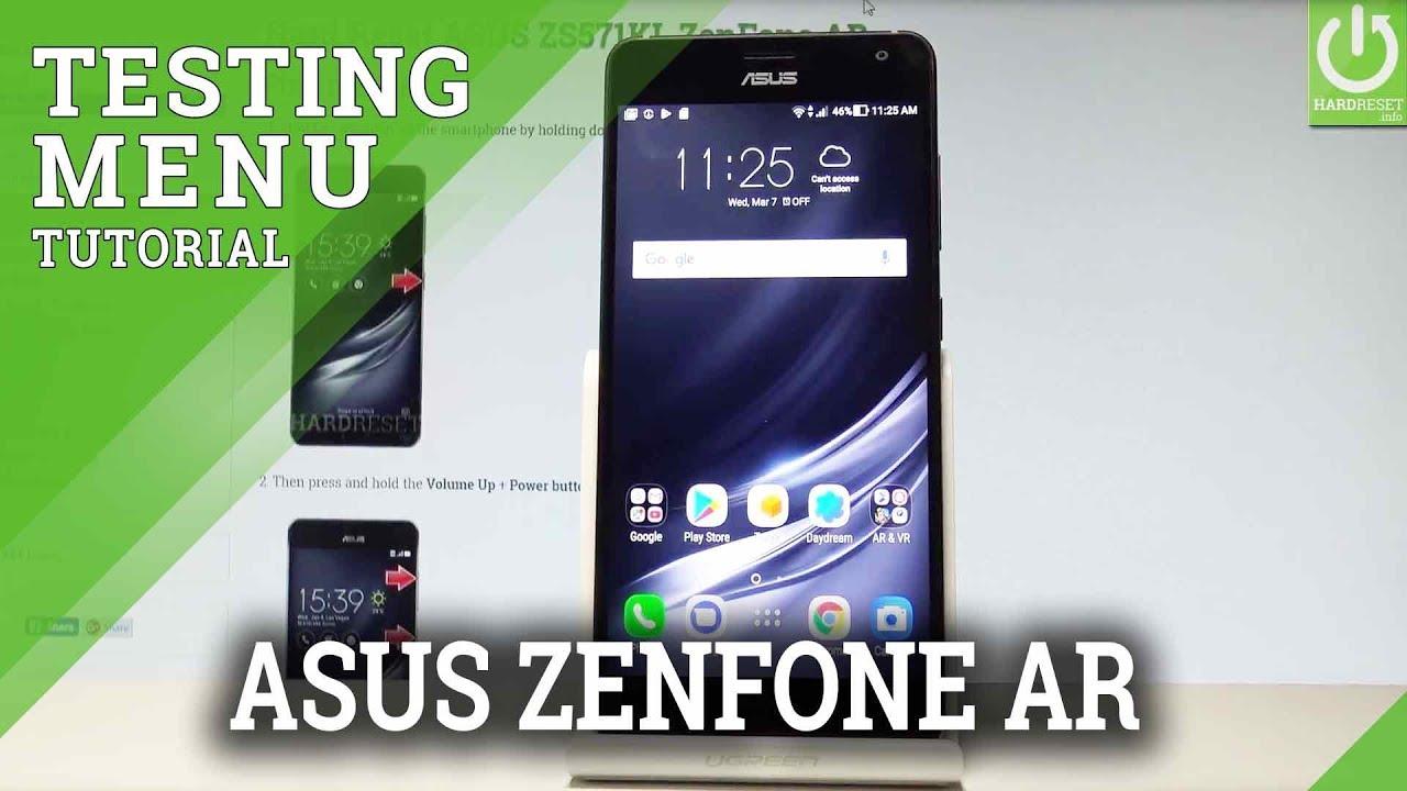 Codes ASUS ZS571KL ZenFone AR - HardReset info