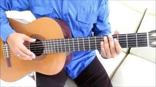 Belajar Kunci Gitar The Rain feat. Endank Soekamti Terlatih Patah Hati Intro Melody