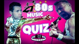 KMBvidz lets play 80's MUSIC QUIZ CHALLENGE play along