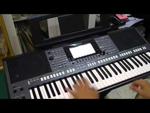 happy pharrell williams yamaha psr s770 youtube. Black Bedroom Furniture Sets. Home Design Ideas
