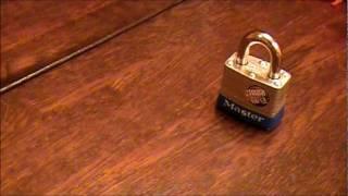 Adventures in Lockpicking Episode 1 - Masterlock No. 3