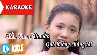 [KARAOKE] Việt Nam Quê Hương Tôi - Tone Nữ