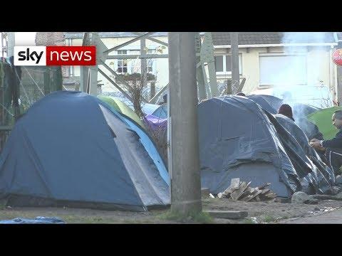 Sky News meets Iranian migrants at a Calais camp
