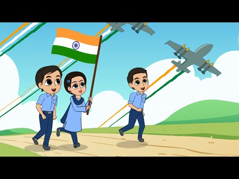 वन्दे मातरम I Vande Mataram I Desh Bhakti I 26 January Song I Hindi Rhymes