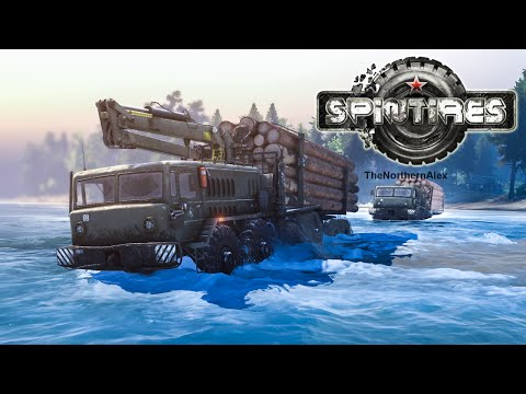 Spin Tires MP #3 - The 8x8 Log Crossing