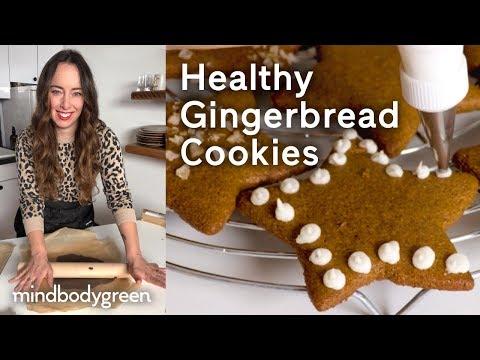 Healthy Gingerbread Cookies   A Little Bit Healthier   mindbodygreen